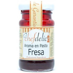 Aroma pasta chefdelice fresa