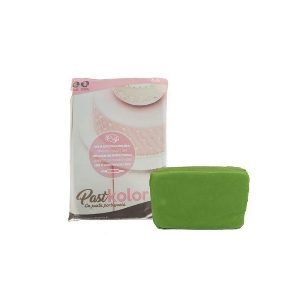 fondant pastkolor 250 gramos verde lechuga