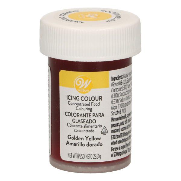 Colorante gel Wilton amarillo dorado