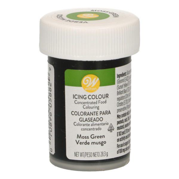 Colorante gel Wilton verde musgo