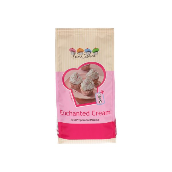 Preparado enchanted cream 450gr funcakes