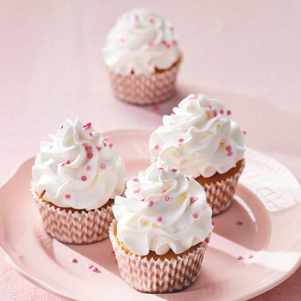 Preparado enchanted cream funcakes-cupcakes