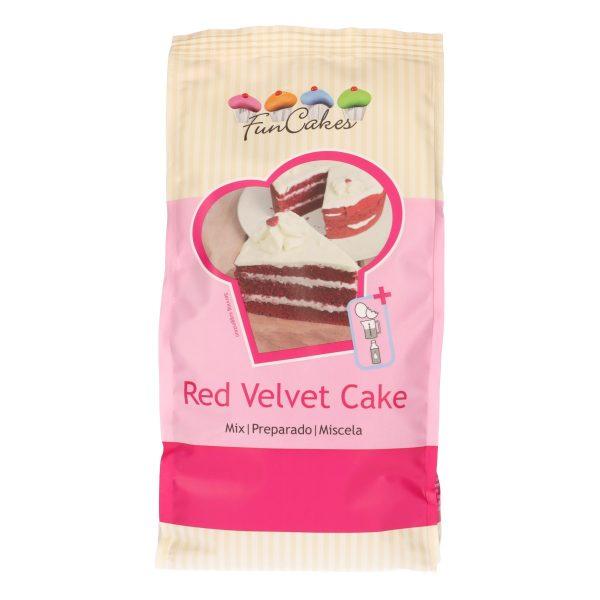 Preparado red velvet 1kg funcakes