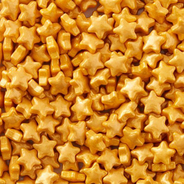 Wilton sprinkles estrellas doradas