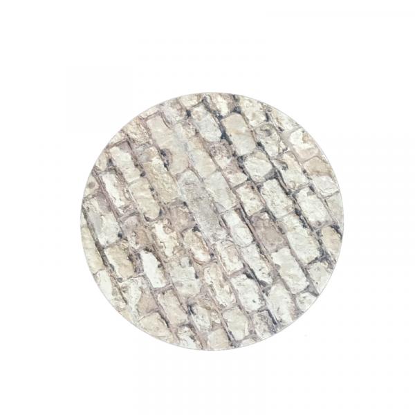 base redonda 3mm efecto piedra
