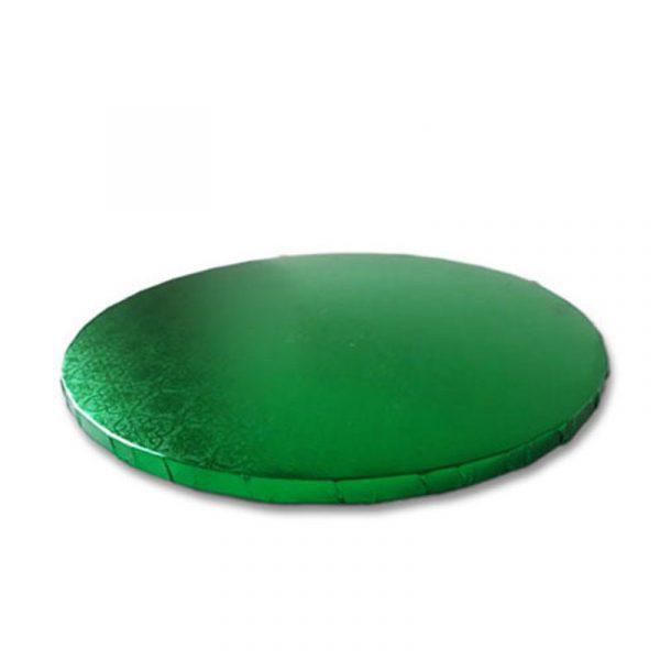 base redonda tarta verde