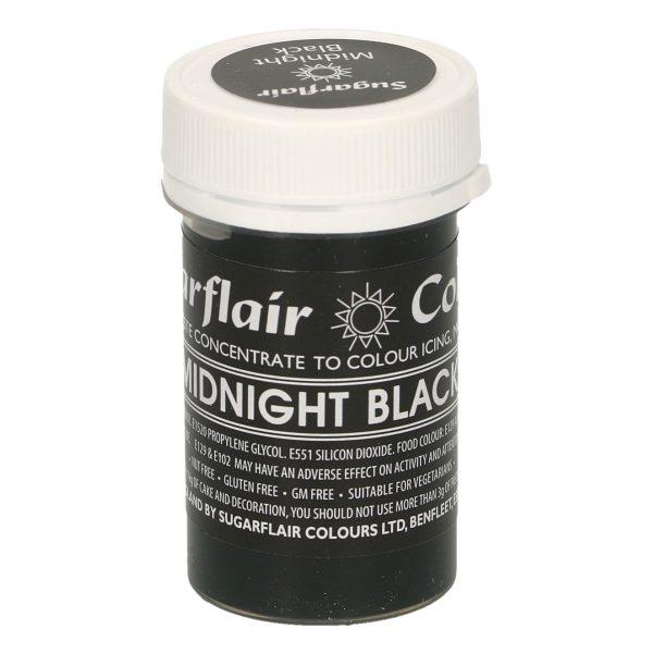 colorante negro medianoche sugarflair