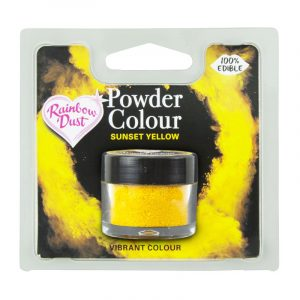 colorante polvo rainbowdust amarillo