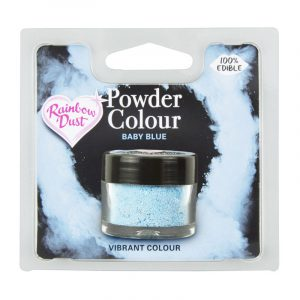 colorante polvo rainbowdust azul bebe