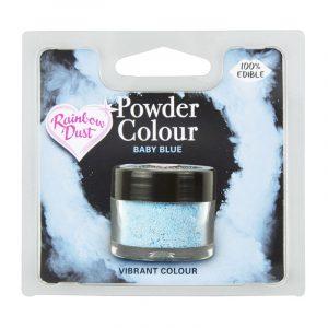 colorante polvo rainbowdust azul bebe