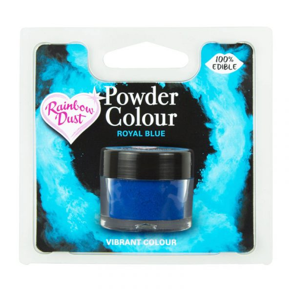 colorante polvo rainbowdust azul real