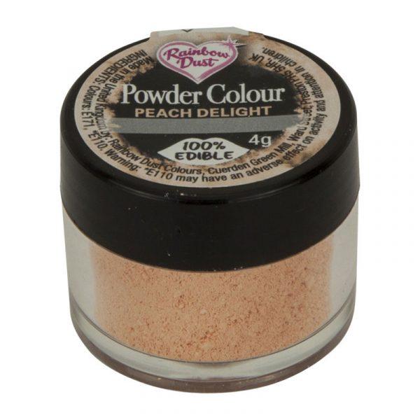colorante polvo rainbowdust melocotón