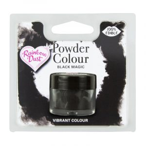 colorante polvo rainbowdust negro