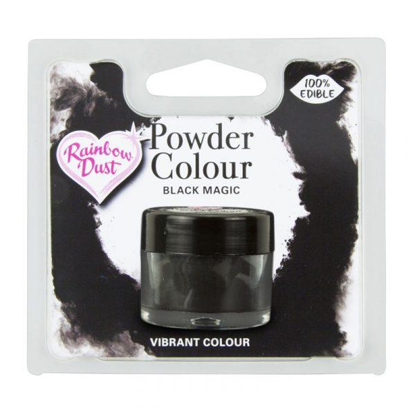 colorante polvo rainbowdust negro