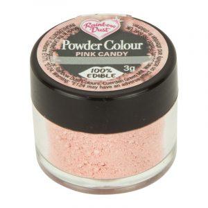 colorante polvo rainbowdust rosa caramelo