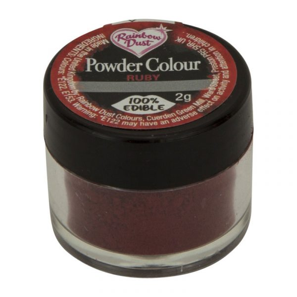 colorante polvo rainbowdust ruby