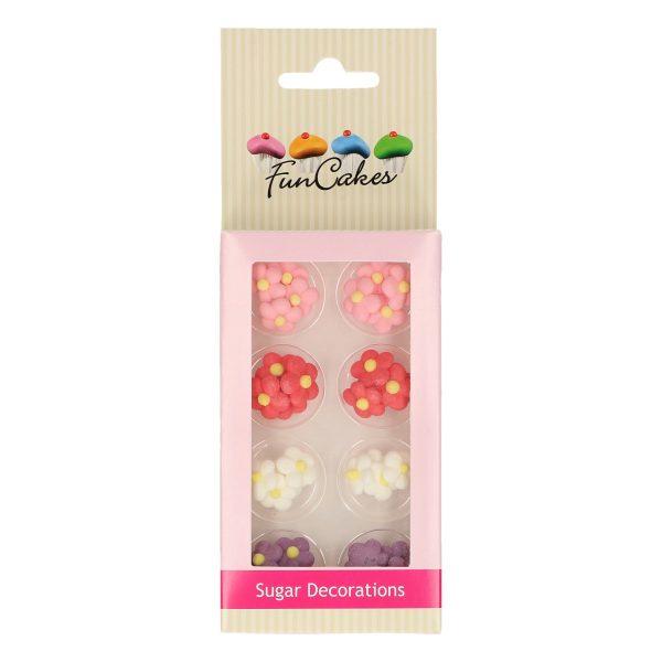 decoraciones azúcar funcakes florecitas