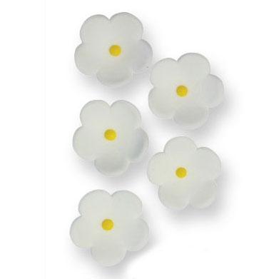 decoraciones azúcar pme flores blanco