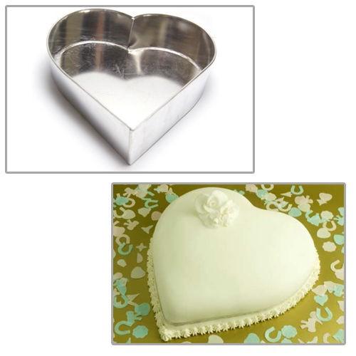 eurotins molde aluminio forma corazones