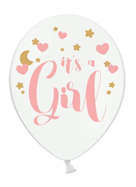 globo its a girl niña nacimiento