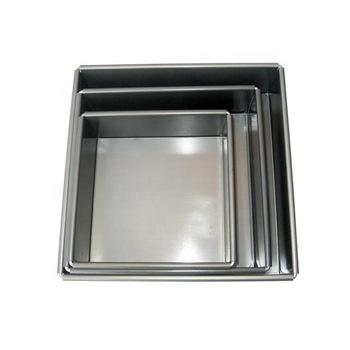 molde bizcocho cuadrado aluminio