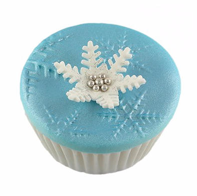 PME Impression mat tapete texturizador copo de nieve