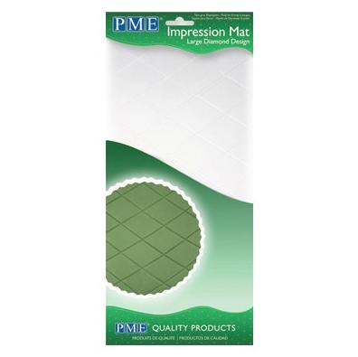 PME Impression mat tapete texturizador rombo grande