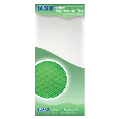 PME Impression mat tapete texturizador rombo pequeño