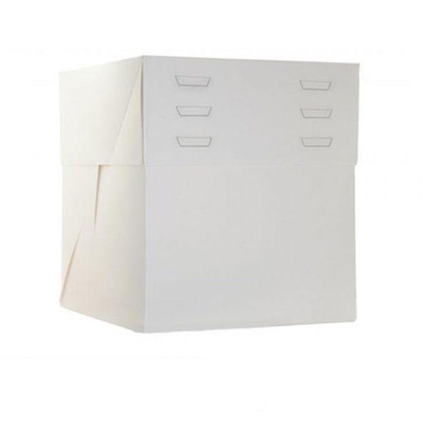 caja tarta carton elevable con alturas