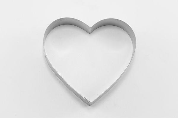 cortador metálico corazon