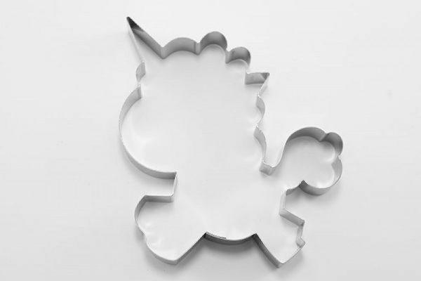cortador metálico unicornio