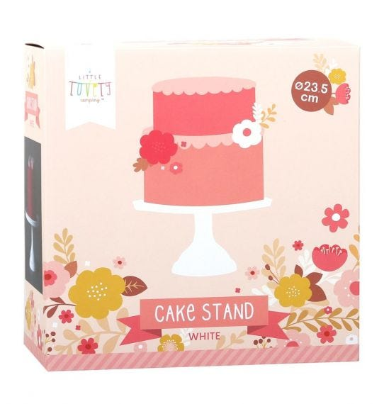 Cake stand blanco a little lovely company