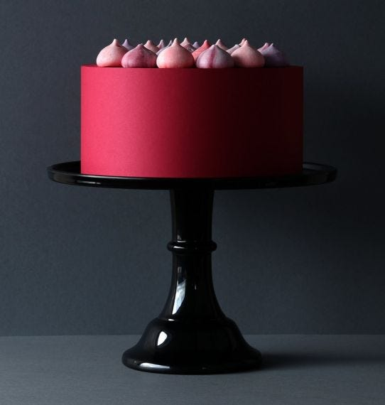 Cake stand negro a little lovely company