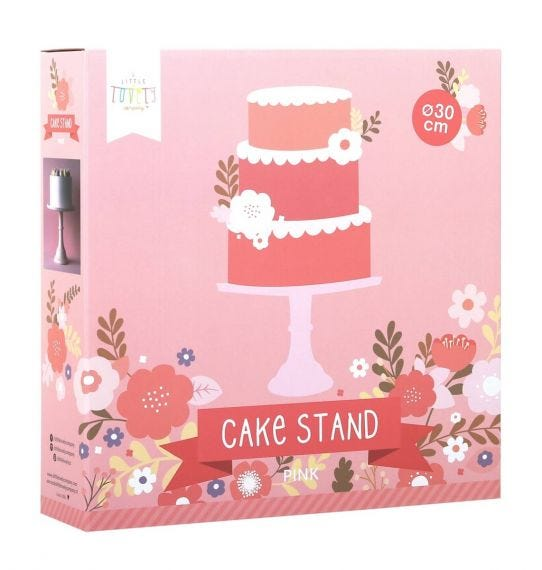 Cake stand rosa a little lovely company