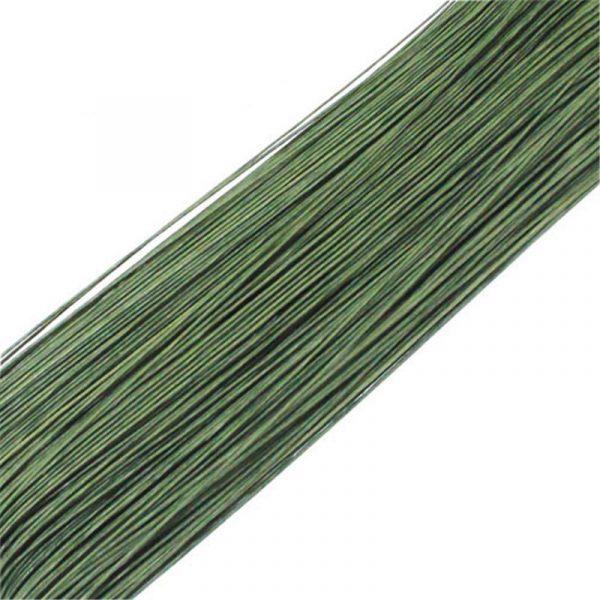 alambre flores color verde