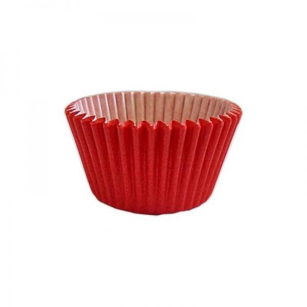 capsulas cupcakes rojo