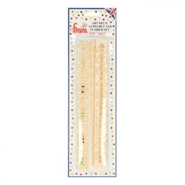 letras texturizadoras fmm art deco mayusculas