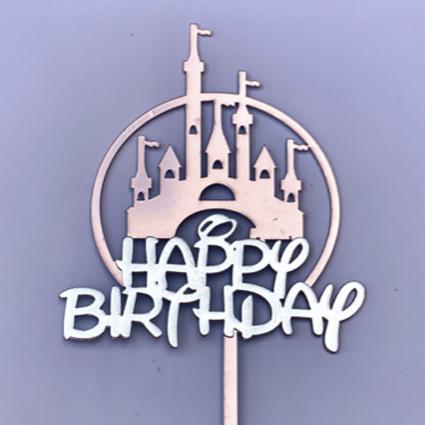 Dulces mágicos de patricia Topper happy birthday castillo