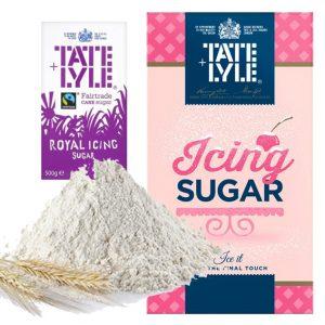 Azúcar y harina