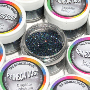 purpurina graphite hologram rainbowdust