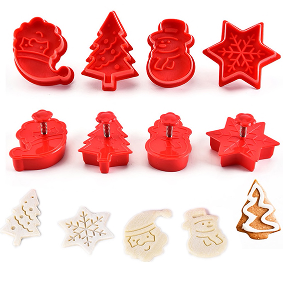 set cortadores expulsor texturizador navidad2