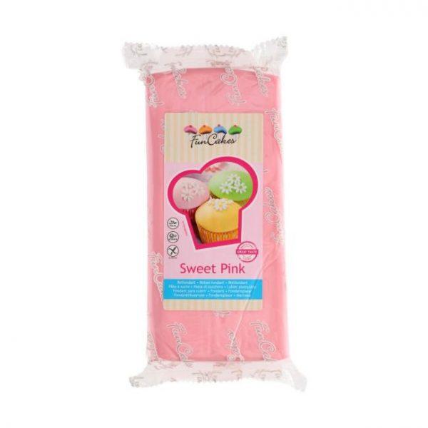 Fondant Funcakes sweet pink 1kg