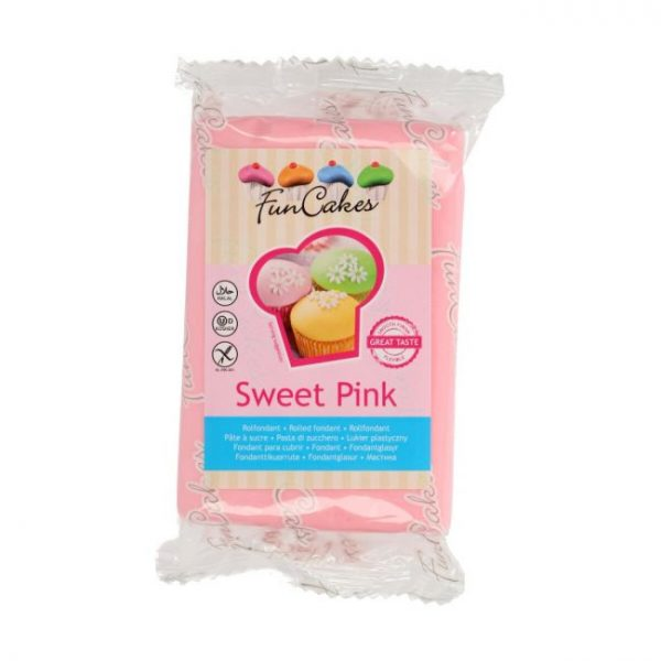 Fondant Funcakes sweet pink 250g