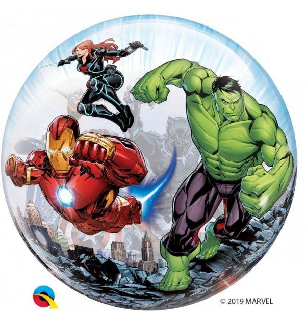 globo bubble qualatex marvel avengers