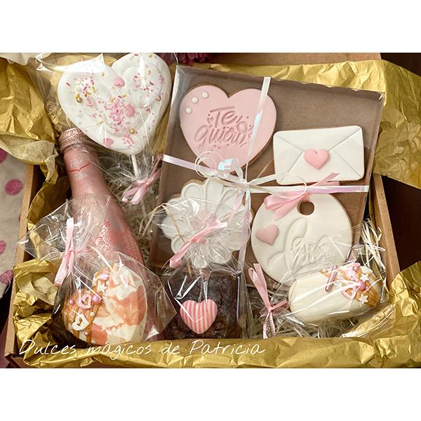 Dulces Mágicos de Patricia Pack dulces I Love You (Rosa)