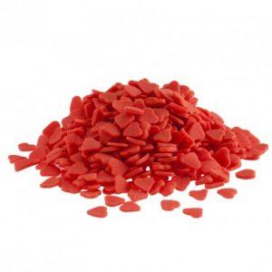 sprinkles corazones rojos
