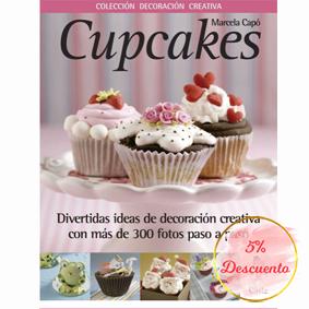 Libro cupcakes Marcela Capó