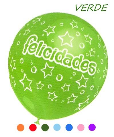 globo felicidades verde