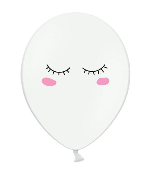 globo unicornio blanco